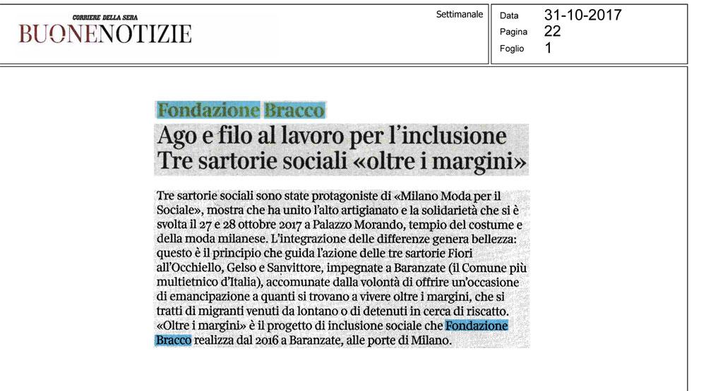Buone Notizie Corriere della Sera