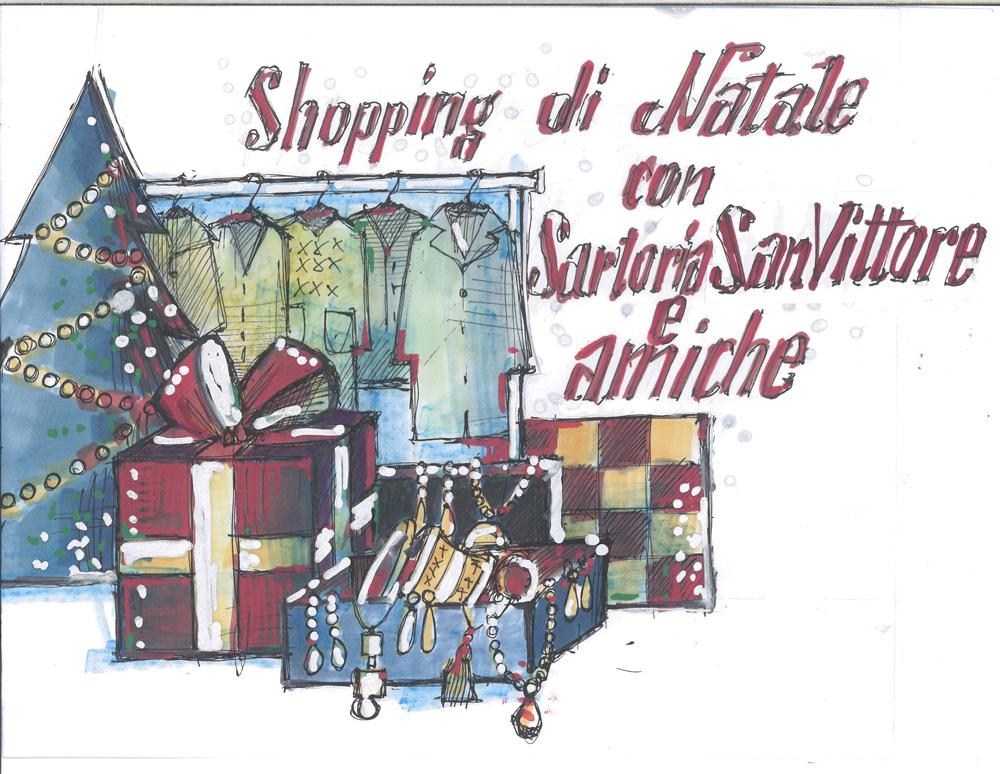Shopping di Natale con Sartoria Sanvittore & amiche